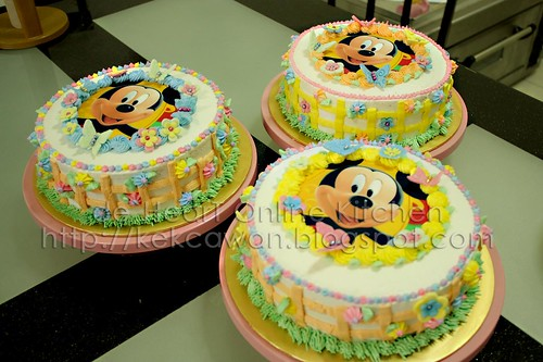 Sample: Basic Buttercream Cake Deco