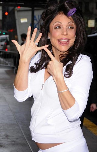 bethenny frankel wedding pictures. Bethenny Frankel Showing Off