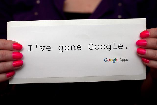 I've gone Google