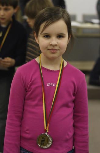 Karolina - silver medalist, G10 2010