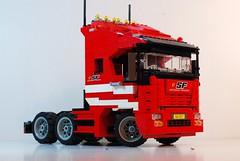 Ferrari Semi-Trailer Tractor