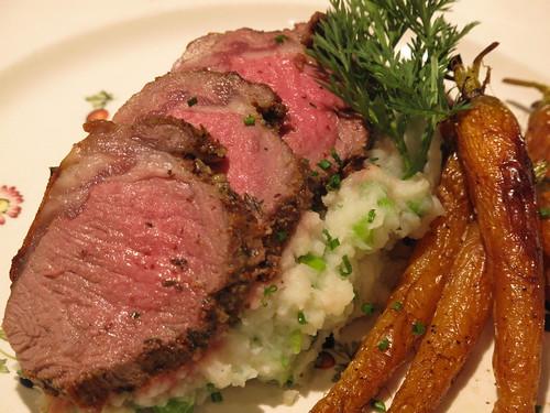 Herbed Lamb Loin
