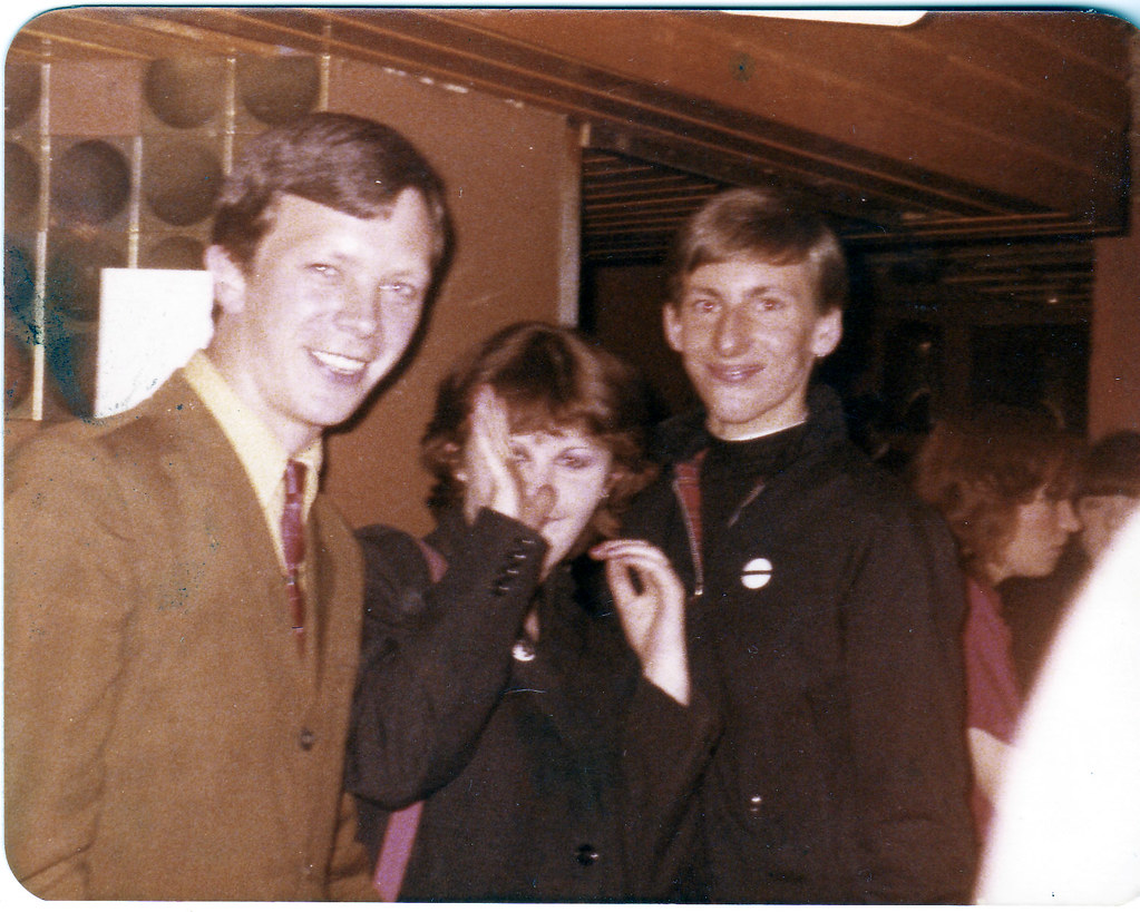 Ellen Craig, Terry Honnan and Wully From Castlemilk The Rooster Glassford Street 1981