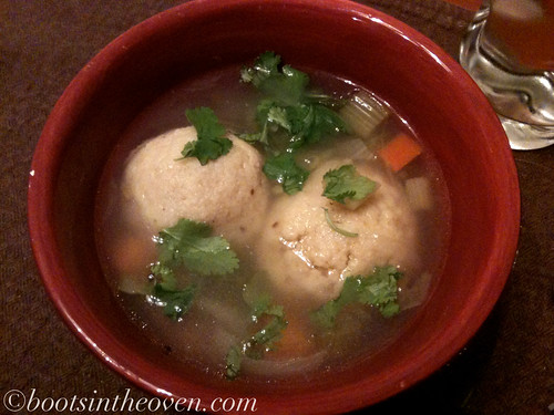 Matzoh Ball Soup from the Soup Peddler
