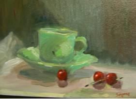 original green cup