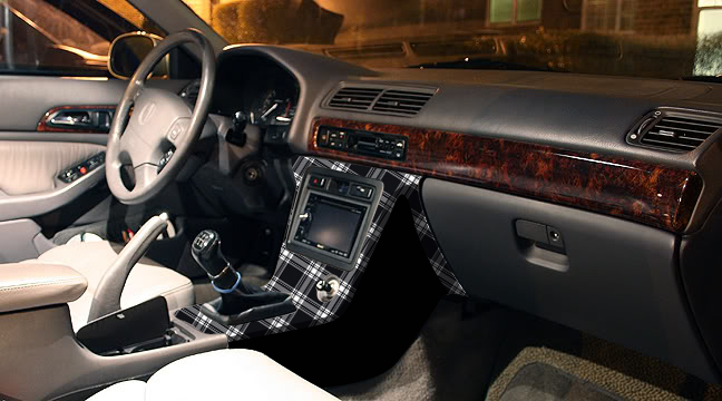 Plaid Fabric Interior AcuraZine Acura Enthusiast Community - Acura cl 97