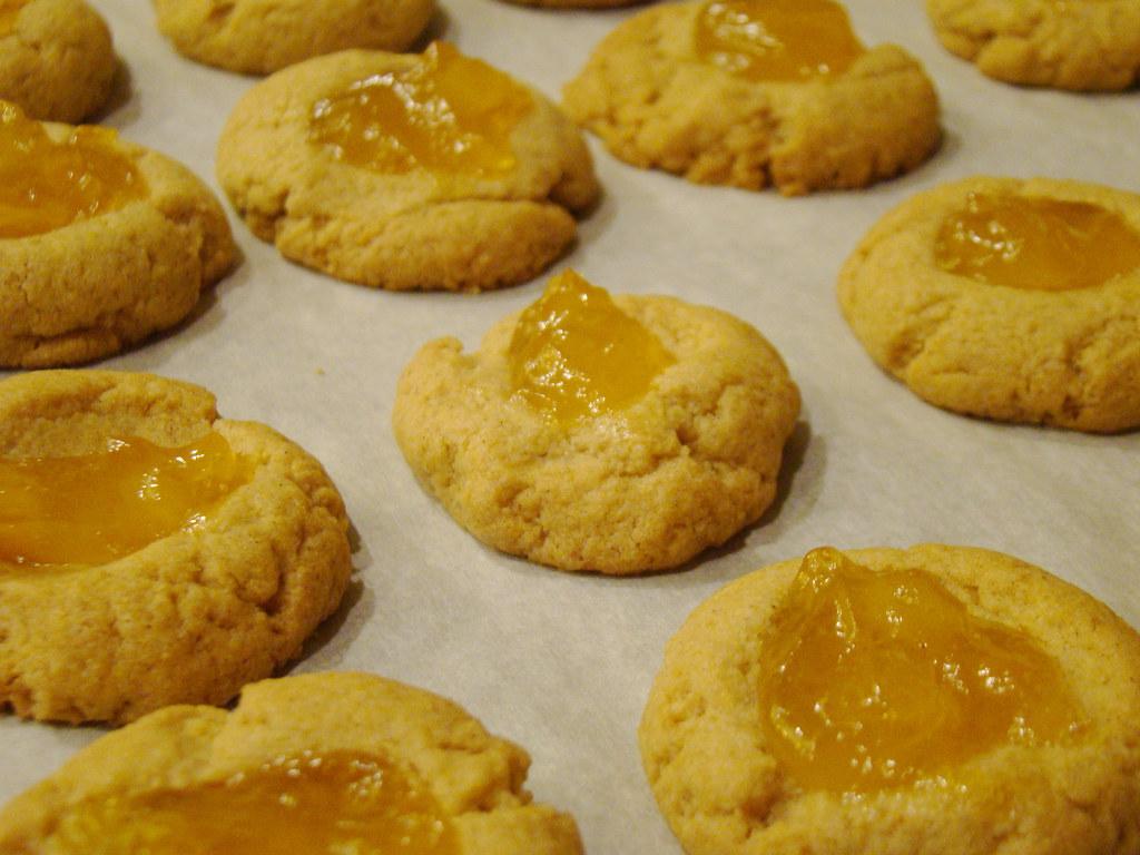 Thumb Print Guava Cookies