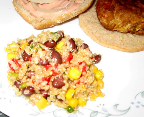 Debbi Does Dinner Quinoa Black Bean Salad