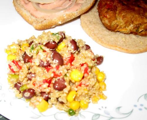 Debbi Does Dinner Quinoa Black Bean Salad