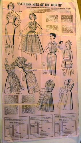 Vintage Mail Order Printed Pattern 4540 Poster