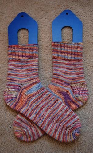 FO: Marbles socks