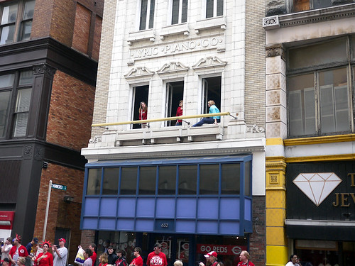 Reds Opening Day Parade 2010