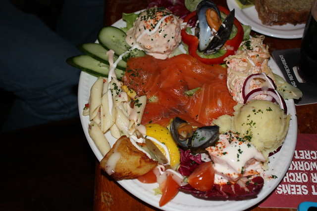 Seafood platter at The Quays, Galway