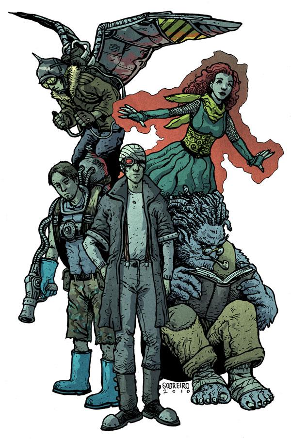 Freakangels X-men by Felipe Sobreiro
