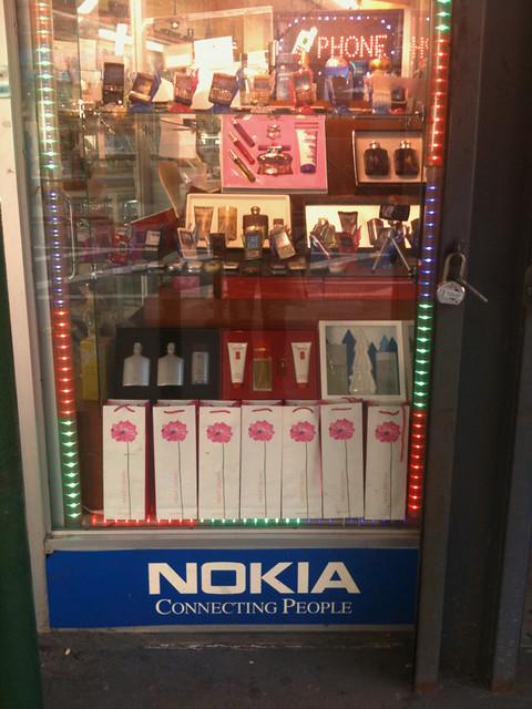 fancy nokia display #walkingtoworktoday
