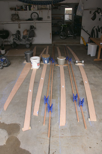 The Sauce: Gluing the Scarf Joints