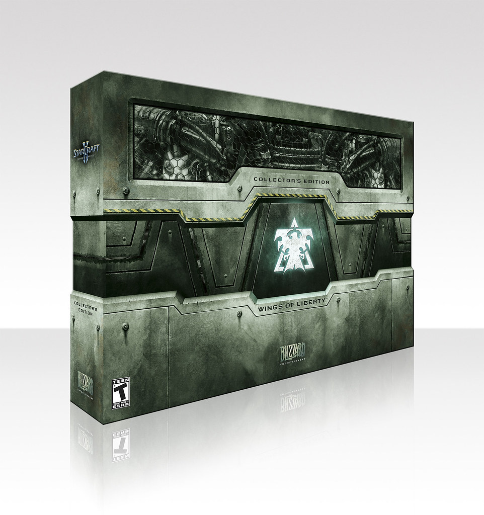 StarCraft II Wings of Liberty Collectors Edition