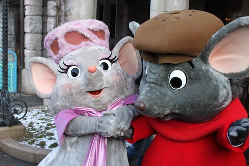 Meeting Bernard and Bianca