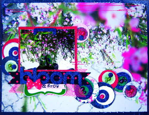 Pink Ninja Addicts *Bloom* Layout