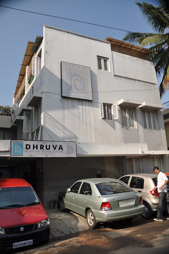 One of the Dhruva buildings