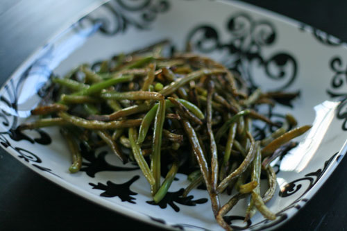 Balsamic Roasted Green Beans Recipe