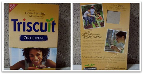 Home Farming with Triscuit