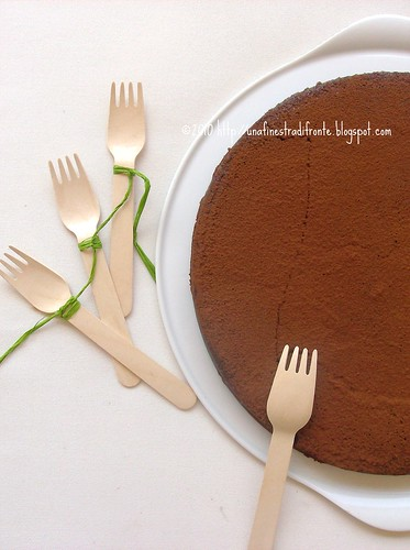 Torta al cioccolato tartufato
