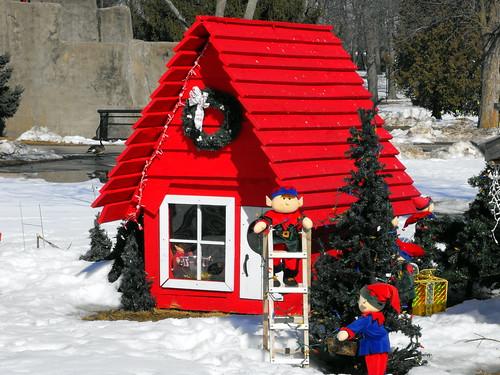 Christmas Leftovers Rotary Winter Wonderland Decorations