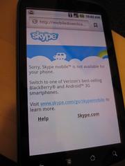 Skype @ Google Nexus One