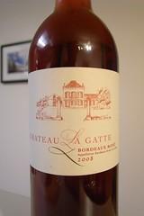 2008 Château La Gatte, Rosé
