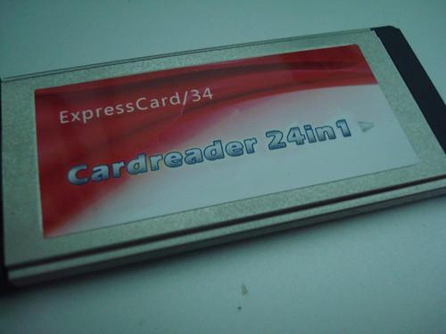 Expresscard 讀卡機