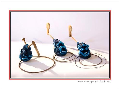 Rolland Bideau : sculptures do ré mi fa ....  (Image extraite de l'album EXPIANO de GERBOR sur Flickr.com)