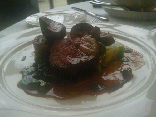 Rump of Lamb at City Inn Hotel Leeds