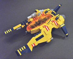 Tribute (S.L.Y) Tags: lego starfighter vicviper nnenn