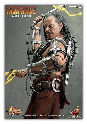 Whiplash de Iron Man 2
