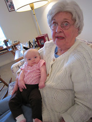 Grandma Evelyn and Olivia