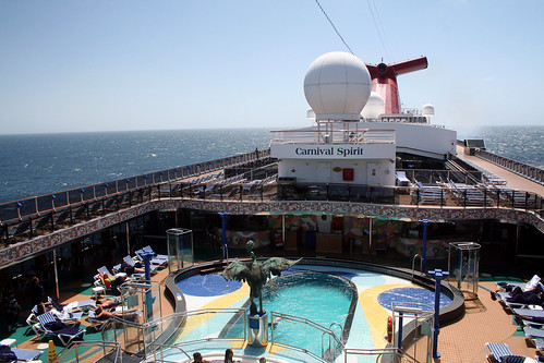 Carnival Spirit - Double Lido Pools