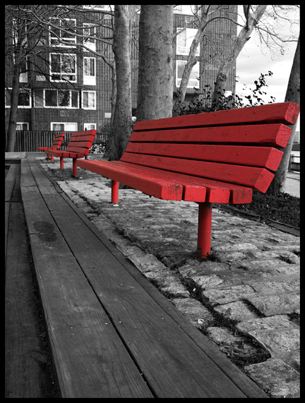 The Red Benches