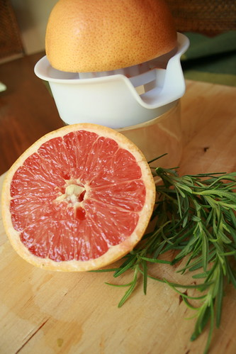 Grapefruit Rosemary Jelly