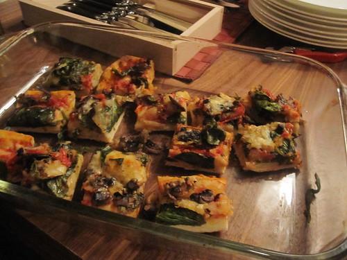 Annie's veggie pizza