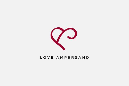 Love Ampersand Logo Design