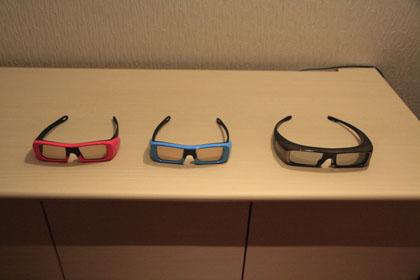 SONY BRAVIA 3D TV LX900 V52 メガネ