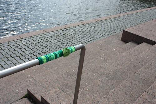 Knit graffiti - Itämeren Amsterdam 2
