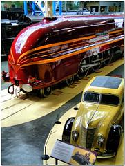 0075 Streamlined (SierPinskiA) Tags: york yorkshire hamilton streamlined northyorkshire nrm nationalrailwaymuseum duchess steamlocomotive 6229 fujifinepixs602zoom duchessofhamilton dynamicphotohdr