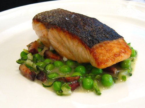 Pan-Seared Scottish Salmon