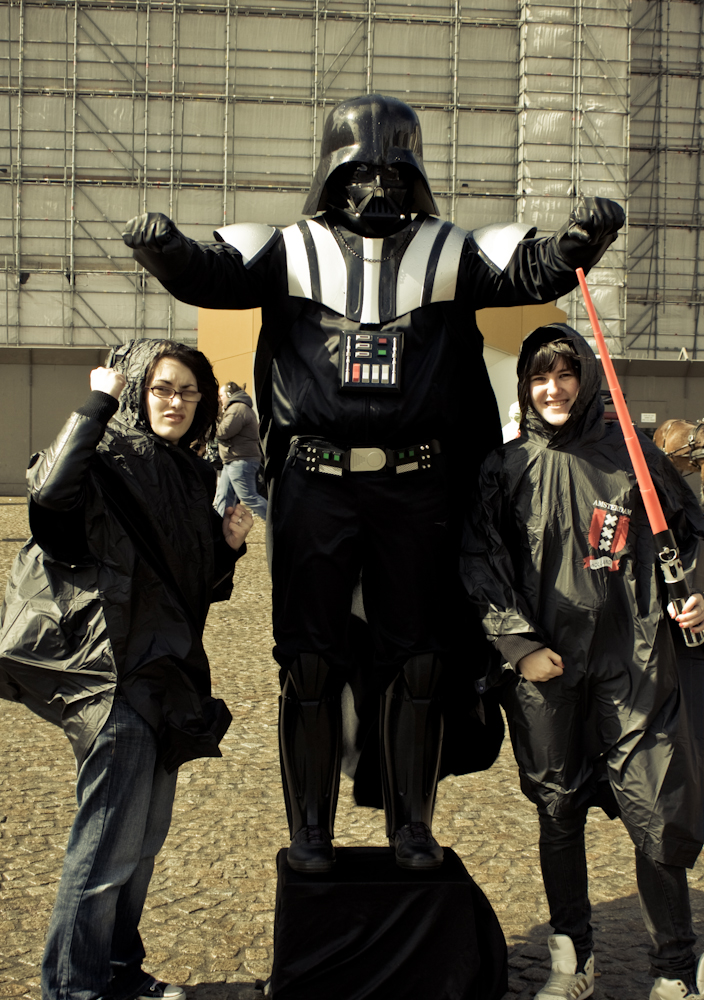 Darth Vader: May The Ponchos Be With You!