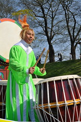 Energic drummer