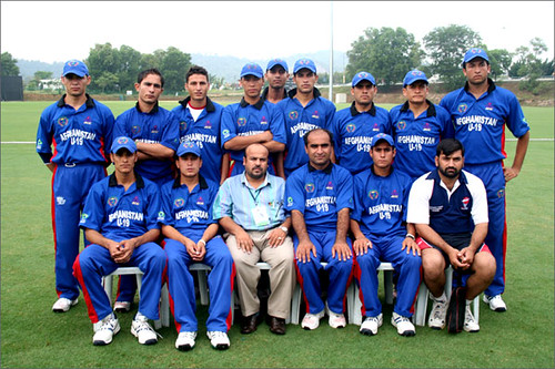 Afghanistan Cricket Team Pictures
