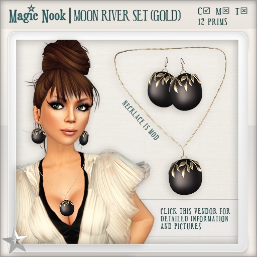 [MAGIC NOOK] Moon River Set (Gold)