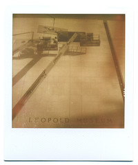LEOPOLD MUSEUM (»»») Tags: analogue polaroid tbp sx70 px100silvershade urban vienna austria museum newwindows sepia geo:lat=4820281697422282 geo:lon=16358988309192654 geotagged film instantfilm instantphotography österreich wien oldlikes